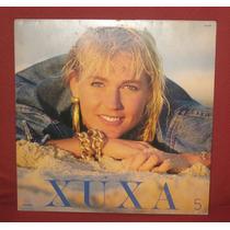 Lp Xuxa 5 Com Encarte - Em Ótimo Estado!
