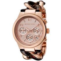 Relógio Michael Kors Mk4269 Rose E Tartaruga Caixa E Manual