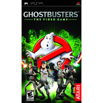 Jogo Novo Lacrado Ghostbusters The Video Game Para Psp