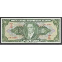 C_075 10 Cruzeiros,2a Est.,autografada,1950, Fe. G.vargas