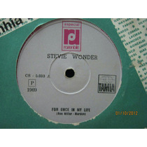 Stevie Wonder Compacto For Once In My Life 1969