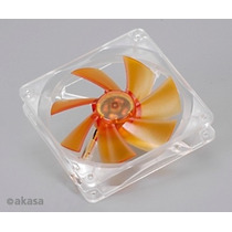 Cooler Fan 120mm Akasa Amber Ak183-l2b Ultra Silencioso