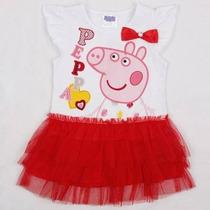 Vestido Infantil Peppa !!! 2-5 Anos Pronta Entrega
