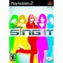 Jogo Lacrado Disney Sing It Para Playstation 2 Ps2