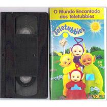 Fita Vhs O Mundo Encantado Dos Teletubies Vol. 1