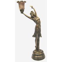 Chiparrus De Petit Bronze Com Luminaria ( Cod 25 )