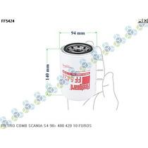 Filtro De Combustivel Scania S4 98/... 400 420 10 Furos