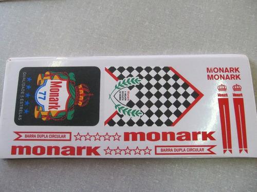 Adesivo De Parede Onde Comprar ~ Cartela Adesivo Bicicleta Monark 77 Vermelho Frete Gratis R$18 ijQHo Precio D Brasil