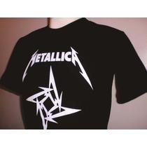 Camisas Rock Metallica - Frete Barato - Tecido 100% Algodão