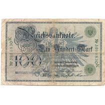 Av 1041 - Cedula 100 Reichmark 1908 - Alemanha