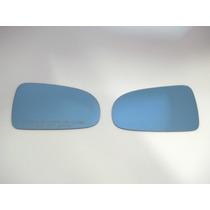 Par De Lente Azul Espelho Retrovisor Corolla 2008/...