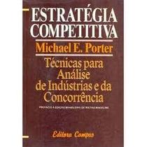 Livro- Estratégia Competitiva- Michael E. Poter-frete Gratis