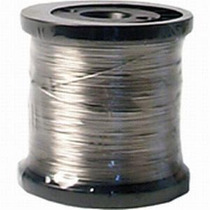 Arame De Aço Inox 0,45mm Rolo 400 Mts- Fio De Aço- Promoção