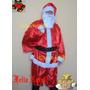 Roupa Fantasia De Papai Noel Adulto - Feliz Natal - P Ao Gg
