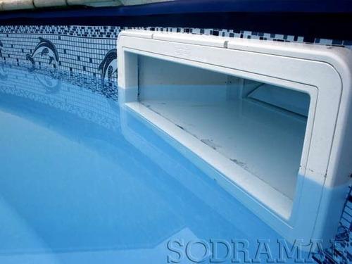 Skimmer para piscina boca pequena sodramar mostra f cil for Skimmer para piscinas
