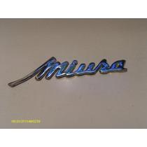 Emblema Escrito Miura