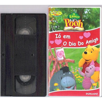 Fita Vhs O Livro Do Pooh Ió Em O Dia Do Amigo