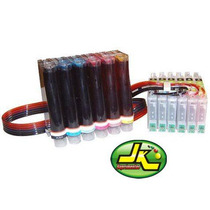 Bulk Ink T50 R290 R270 700 R390 R590 + 600ml Tinta Corante