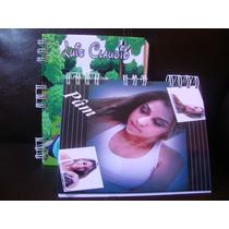 Caderno Personalizado Capa Dura 50 Fls 15 X 20 Cm