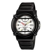 Relógio Casio Hda-600b-7bv Analógico Leve Resistente Bonito