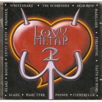 Cd Love Metal - Coletânea Vol. 2 Som Livre - Novo***