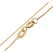 Corrente Veneziana Ouro 18k 60cm 1.9gr + Frete + Caixinha