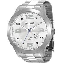 Relógio Seculus Masculino Long Life 28694g0svna1