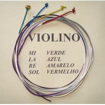 Cordas Mauro Calixto Encordoamento Para Violino