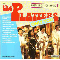 Cd - The Platters - Masters Of Pop Music - Importado