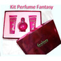 Kit Fantasy - Perfume + Gel + Creme 100ml Original