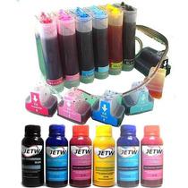 Bulk-ink Hp 02 C7280 C6180 3310 D7160 D7360 C8772 + Tinta