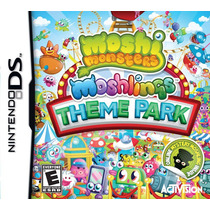 Jogo Moshi Monsters Moshlings Theme Park Para Nintendo Ds