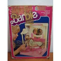 Antigo Salao De Beleza Barbie Da Marca Estrela S.a. Na Caixa