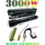 Lanterna Tática Cree Q5 De 3000w E 8400 Lumens Muito Forte.