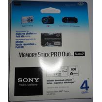 Cartão De Memória Sony.