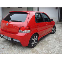 Para Choque Esportivo Fiat Palio 08/09 - Fibra Com Tela