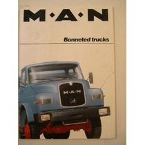Brochura De Venda Caminhões Man - Alemanha