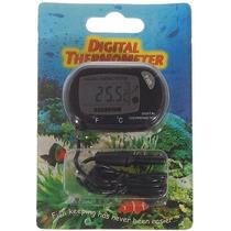 Termômetro Digital Para Aquário, Piscina, Terrário, Adega
