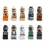 Lego Star Wars - 10 Micro Figuras - Coleção Completa!!!