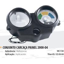 Painel Completo Preto Moto Fan Titan 125 2000/01/02/03/04