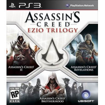 Assassins Creed Ezio Trilogy. 3games Alta Definição.novo.ps3