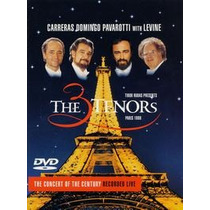 Three Tenors In Paris [eua] Dvd Novo Lacrado