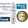 Refil Filtro Vela Para Purificador De Água Soft Everest 2x1