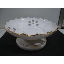 #2245# Fruteira Porcelana Com Ouro!!!