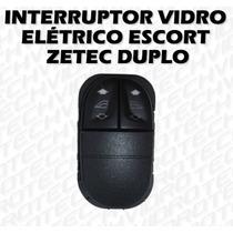 Botão - Interruptor Vidro Elétrico Escort Zetec Duplo