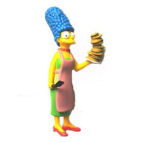 Marge Simpsons! Rara!!serie Simpsons Long Jump!