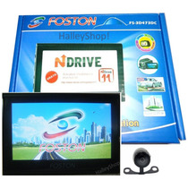 Gps Foston Fs-3d473dc Tela 4,3 Full Hd Câmera Ré Tv Trans-fm