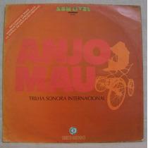 Lp Novela Anjo Mau - Internacional - Som Livre - 1976