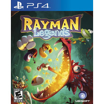 Rayman Legends Para Ps4 - Gamesbig