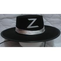 Fantasia Carnaval Festas Chapéu Zorro Luxo !!!